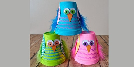 45min Learn to Paper Craft: Beautiful Birds  @2PM (Ages 5+) tickets