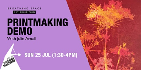 Print Making Demo with Julie Arnall tickets