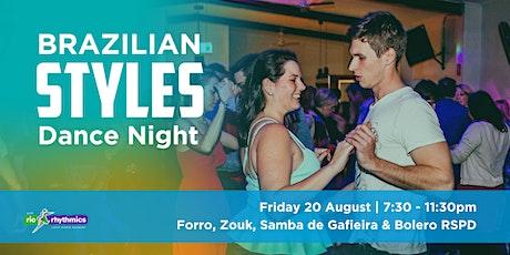 Mixed Brazilian Styles RSPD Dance Night tickets