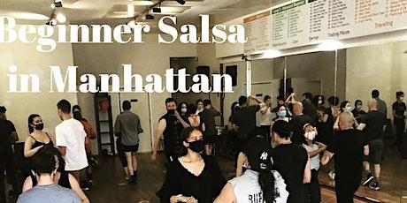 Beginner Salsa Class in Manhattan tickets