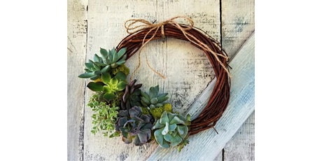 Succulent Wreath at Nine Hats Wines, Seattle tickets