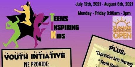 T.I.K - Teens Inspiring Kids (Youth Summer Camp - CLC w/TPS) tickets