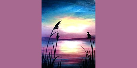 60min Learn to Draw a Scenery: Rainbow Sunset @11AM  (Ages 6+) tickets
