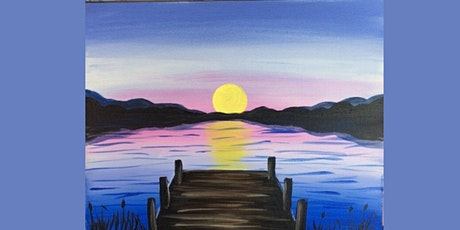 60min Learn to Draw a Scenery: Lake Views @1PM  (Ages 6+) tickets