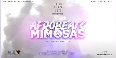 Afrobeats & Mimosas (ALL WHITE EDITION) tickets