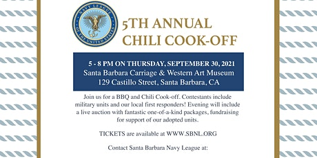 Santa Barbara Navy League's 5th Annual Chili Cook-off tickets