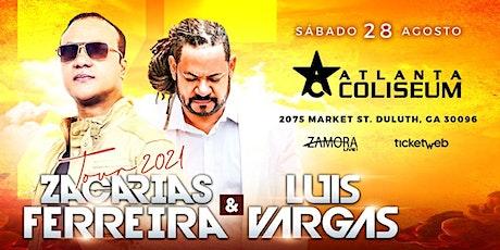 Zacarias Ferreira & Luis Vargas tickets
