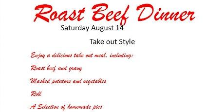 Roast Beef Dinner tickets