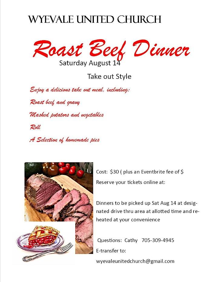 Roast Beef Dinner image