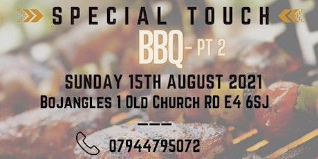 Special Touch Exclusive BBQ Pt2 tickets