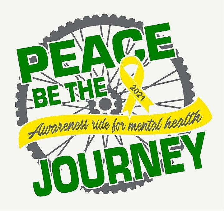 Peace Be The Journey bike ride for mental health awareness image