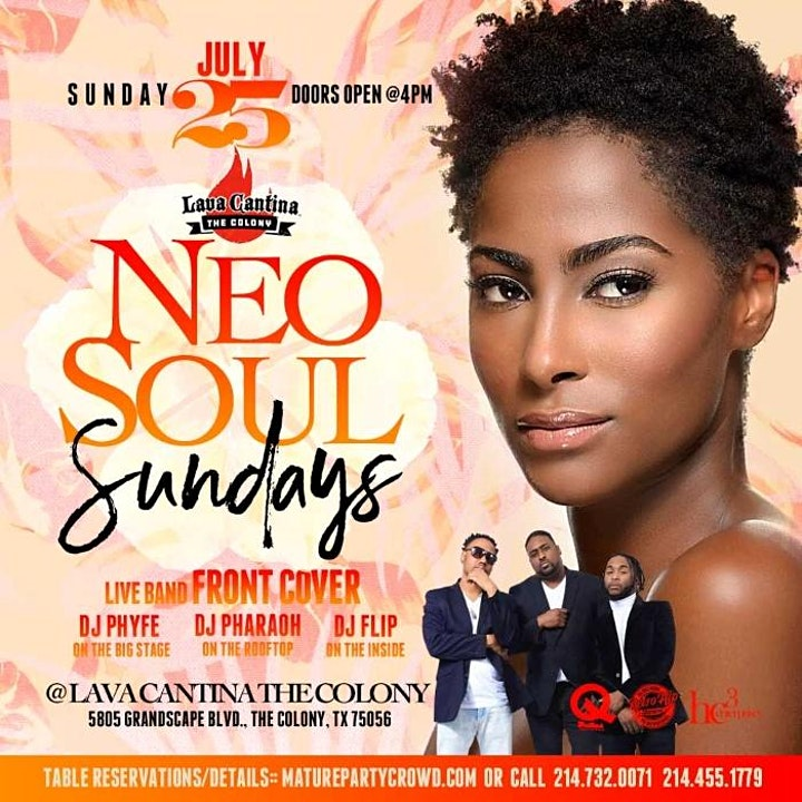NEO SOUL SUNDAYS feat FRONT COVER THE BAND image