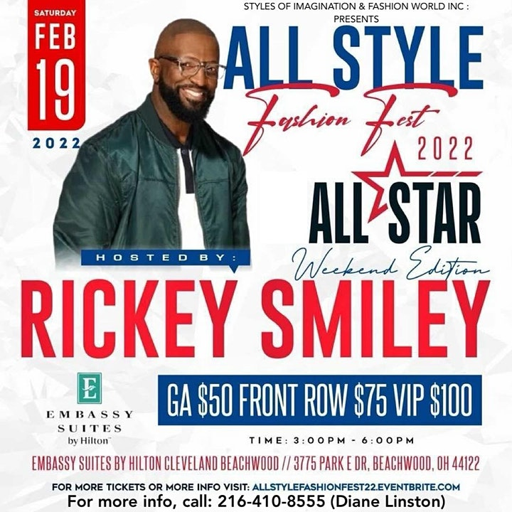 ALL STYLE FASHION FEST 2022 ALL STAR WEEKEND CLEVELAND image