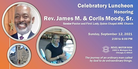 Celebratory Luncheon Honoring Rev. James M. &  First Lady Corlis Moody tickets