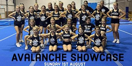 Avalanche Cheerleading showcase tickets
