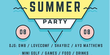 The Summer Party x Puttshack tickets