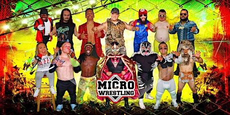Micro Wrestling Invades Xenia, OH! tickets