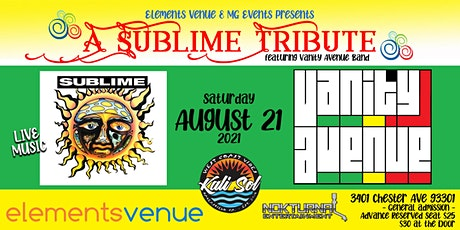 A Sublime Tribute w/Vanity Avenue Band tickets