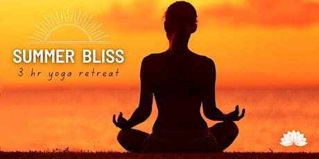 Summer Bliss:3hrYoga Retreat tickets