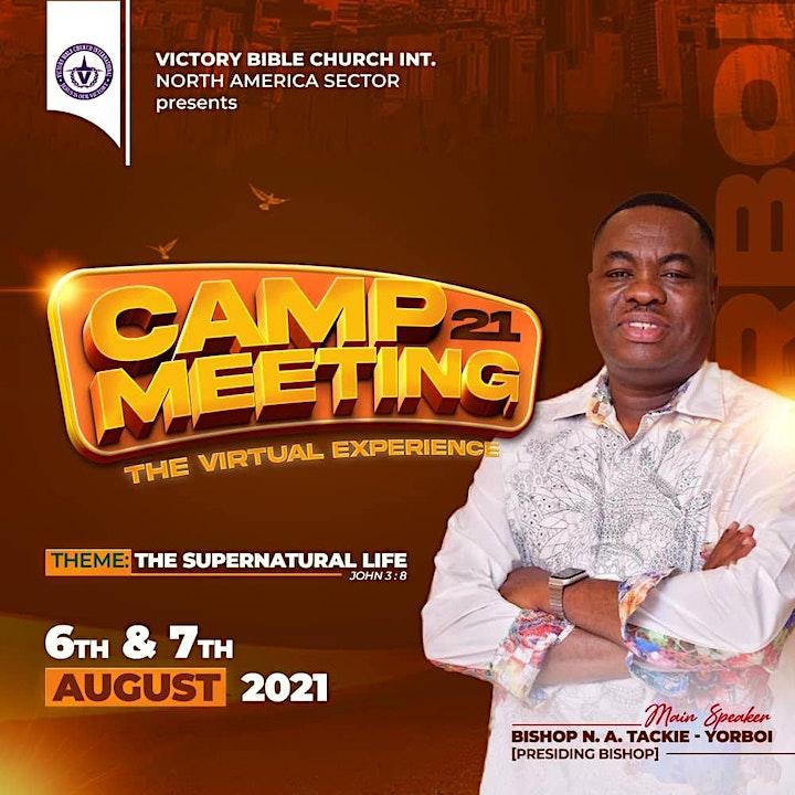 CAMP MEETING 2021 - VICTORY BIBLE CHURCH INTERNATIONAL - NORTH AMERICA image