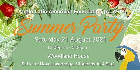 ALAF Summer Party 2021 tickets