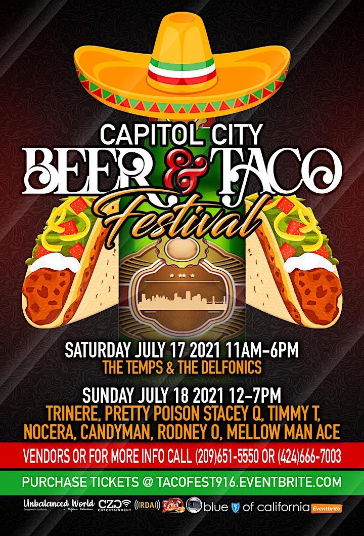 Beer & Taco Fest Sacramento - 2021 image