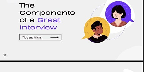 Interview Skills Clinic- How to ace your interviews tickets