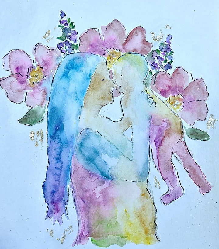 Watercolor for a Cause: Blooming Into Motherhood image