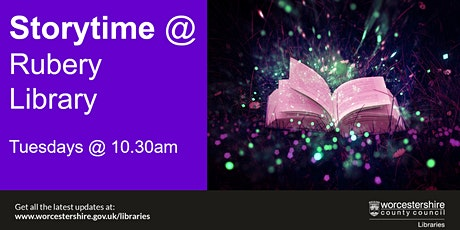 Storytime at Rubery Library tickets