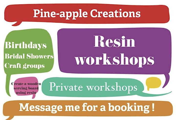 Nature and resin workshop,18 and over (PORT AUGUSTA) image