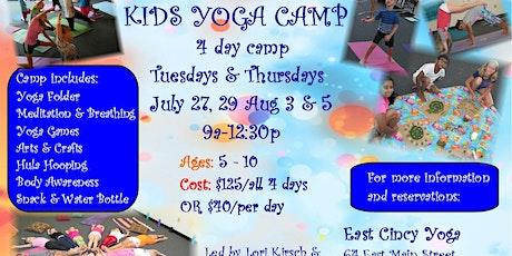 Kids Yoga Camp tickets