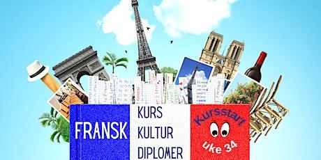 FRANSK kursstart| Rentrée des cours de FRANÇAIS | Back to FRENCH class tickets