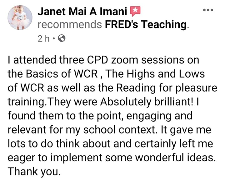 FRED's Teaching - How to Teach Whole-Class Reading! image