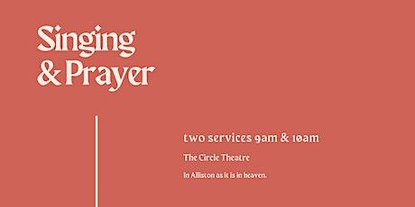 Summer Singing and Prayer tickets