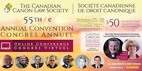 55th Annual Convention / 55e Congrès annuel ingressos