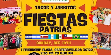 Free! Festival Tacos Y  Jarritos Fiestas Patrias tickets