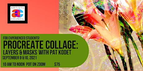 Procreate Collage: Layers, Blend Modes & Masks with Pat Kodet tickets