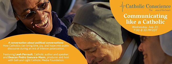 Communicating like a Catholic: A Catholic Civics Workshop image
