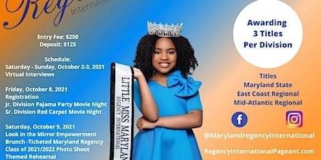 Maryland Regency International Pageant tickets