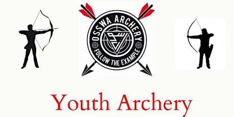 Sacred Archery -   Youth BEGINNERS CLASS OSSWA Archery tickets