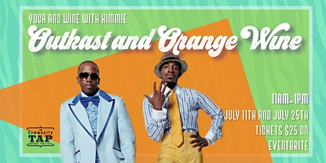 Yoga and Wine Tasting with Kimmie: Outkast and Orange Wine (7/25) tickets