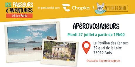 ApéroVoyageurs Paris - Ocean Vibes billets