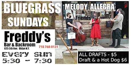 BlueGrass Sunday 1st COME 1st Seated- No Ticket Sales~ FREE tickets