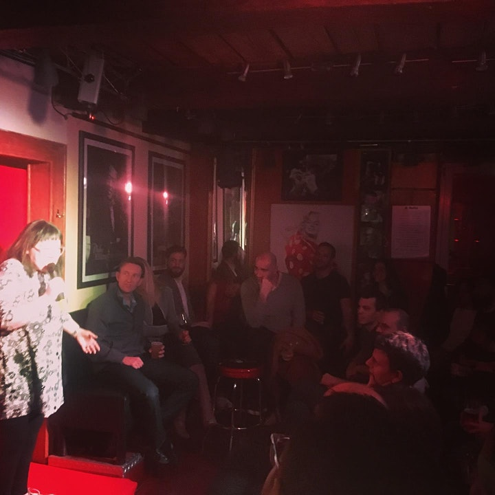 Open mic comedy at Updown Bar image