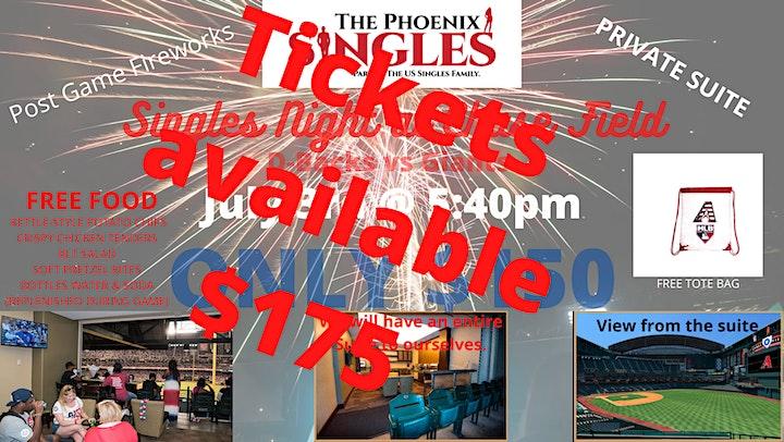"""Phoenix Singles """"Suite"""" Night @ AZ D-Backs Game image"""