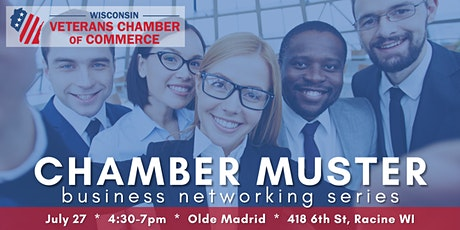 Chamber Muster Racine -- Business Networking Series tickets