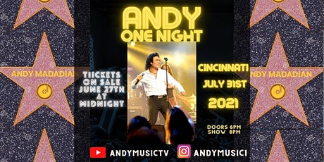 Andy Madadian Show Live In Cincinnati, OH tickets