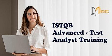 ISTQB Advanced - Test Analyst 4 Days Training in San Francisco, CA tickets