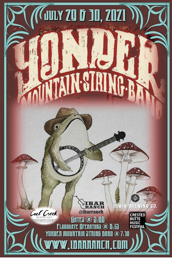 Night Two…. An Evening with Yonder Mountain String Band image