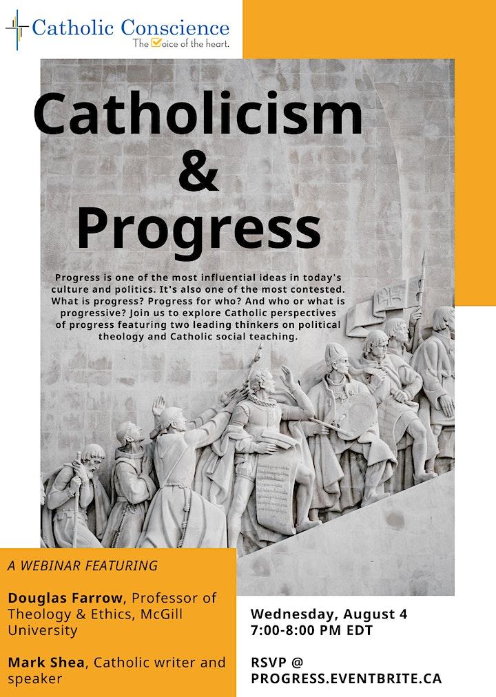 Catholicism & Progress: A Catholic Civics Workshop image